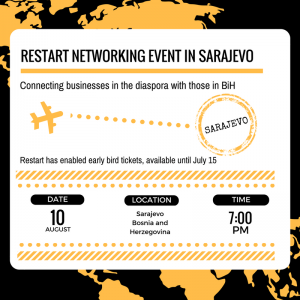 Restart Networking Event in Sarajevo – August 10, 2017