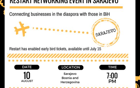 Restart Networking Event in Sarajevo – August 10, 2017