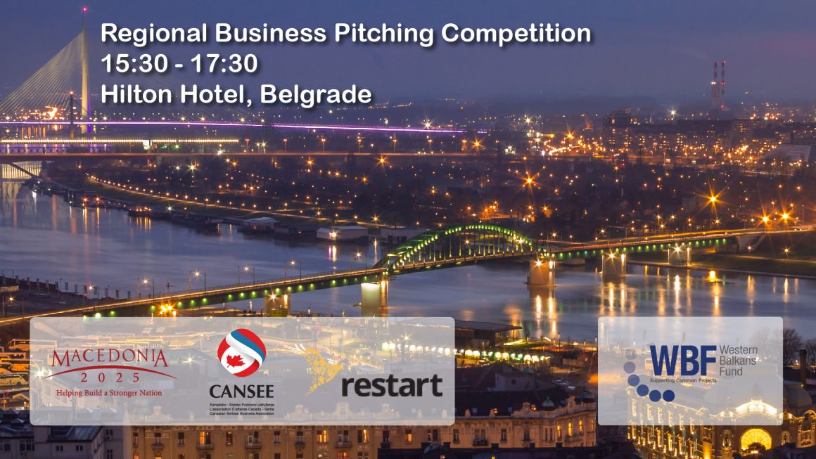 First Regional Business Pitching Competition in Belgrade